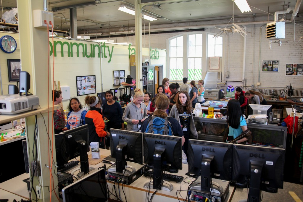 meet the makers at community workshops