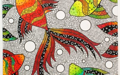 Meet the Makers: Sarah Meadows and Zentangle-Inspired Drawing